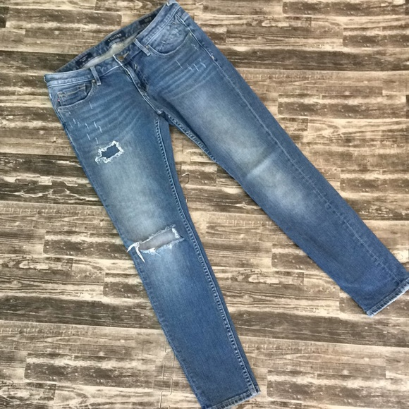 Vigoss Denim - The Chelsea skinny Vigoss distressed hole jeans